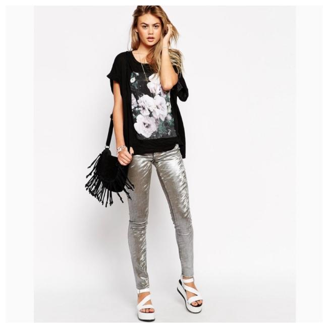 Wildfox Skinny Jeans-Coated Image 2