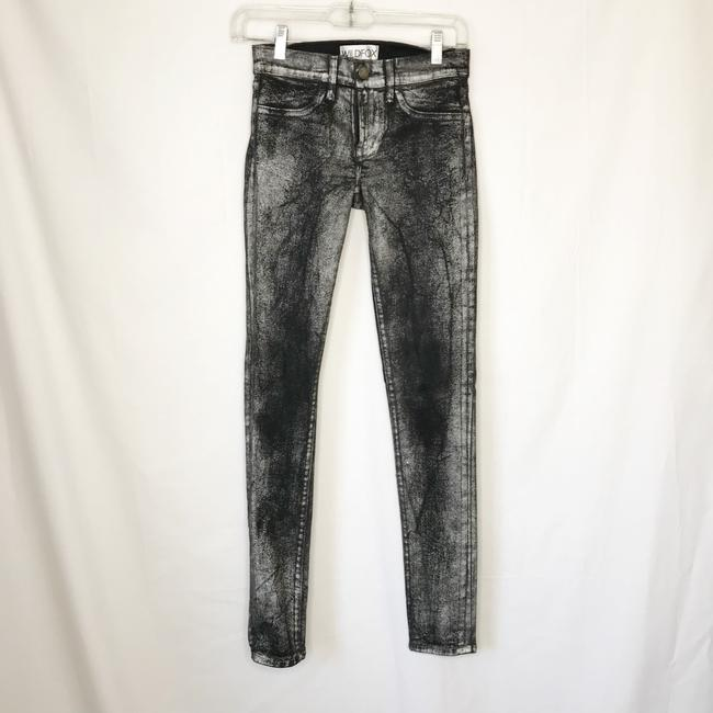 Wildfox Skinny Jeans-Coated Image 5