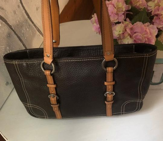 Coach Tote in Chocolate Brown Image 2