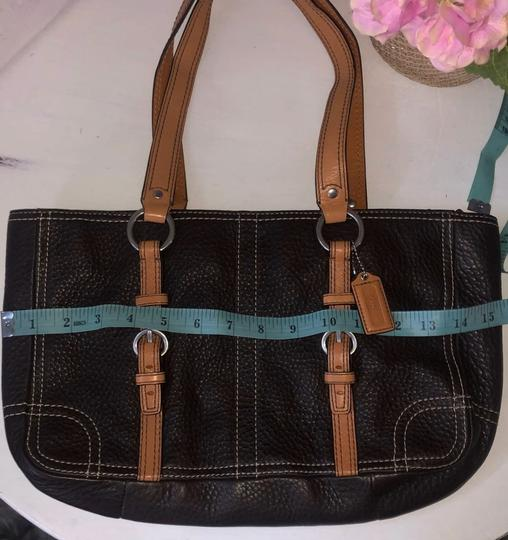 Coach Tote in Chocolate Brown Image 4