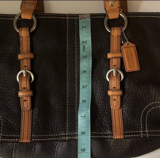 Coach Tote in Chocolate Brown Image 5