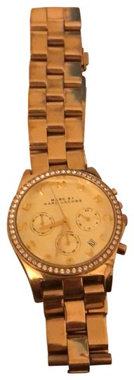 Preload https://img-static.tradesy.com/item/26155874/marc-by-marc-jacobs-gold-plated-fashion-watch-0-1-540-540.jpg