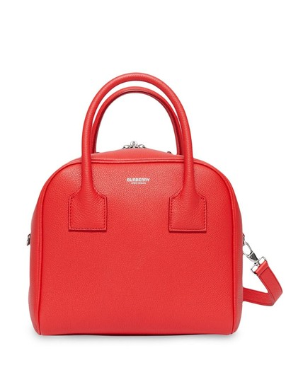Preload https://img-static.tradesy.com/item/26155906/burberry-small-and-vintage-check-cube-red-leather-shoulder-bag-0-0-540-540.jpg