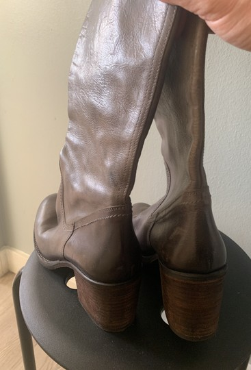 Barneys Co-Op Dark brown/Taupe Boots Image 3