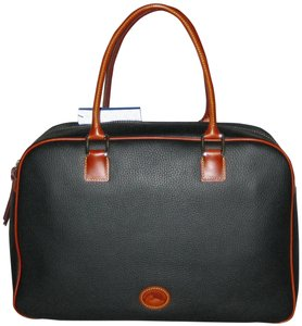 Dooney & Bourke Pebble Grain Duffle Duffle Duffle Black Travel Bag