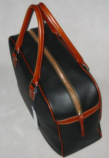 Dooney & Bourke Pebble Grain Duffle Duffle Duffle Black Travel Bag Image 2