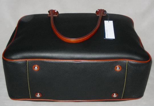 Dooney & Bourke Pebble Grain Duffle Duffle Duffle Black Travel Bag Image 3