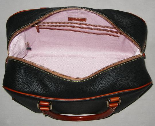 Dooney & Bourke Pebble Grain Duffle Duffle Duffle Black Travel Bag Image 4