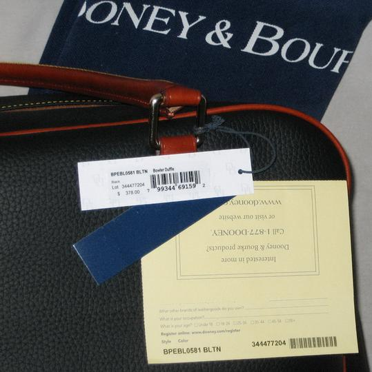 Dooney & Bourke Pebble Grain Duffle Duffle Duffle Black Travel Bag Image 5