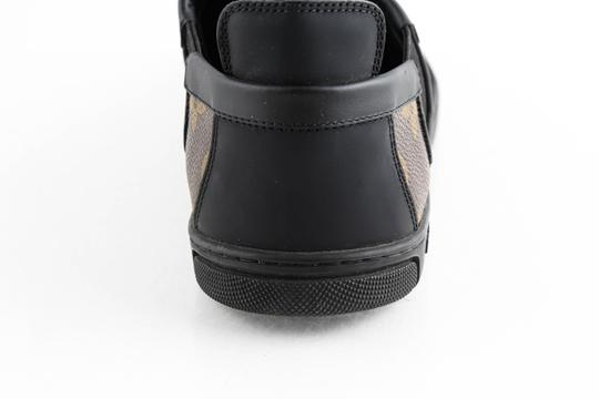 Louis Vuitton Black Slalom Monogram Canvas Sneakers Shoes Image 10