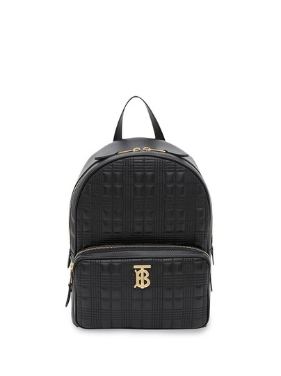 Preload https://img-static.tradesy.com/item/26155969/burberry-quilted-check-lambskin-black-leather-backpack-0-0-540-540.jpg