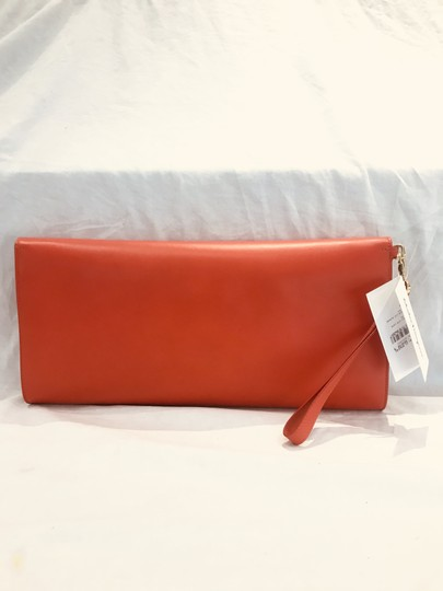 Salvatore Ferragamo tomato red Clutch Image 5