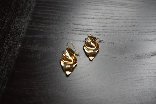 Alexis Bittar Alexis Bitter Gold Statement Earrings Image 1