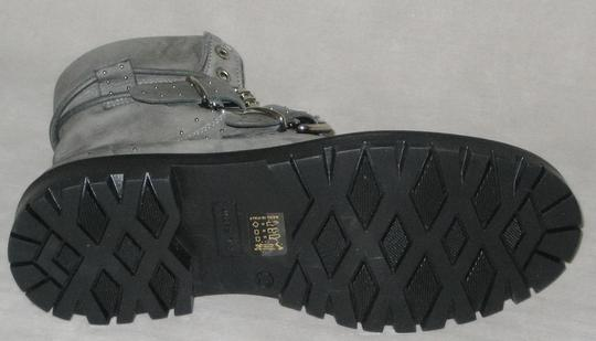 Free People Hiker Studded Made In Italy Gray Boots Image 7