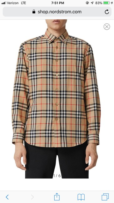 Burberry Button Down Shirt Image 1
