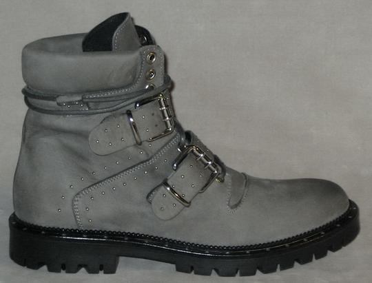 Free People Hiker Studded Made In Italy Gray Boots Image 1