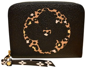 Louis Vuitton Limited Edition Jungle Monogram Zippy Coin Purse Wallet NEW IN BOX!