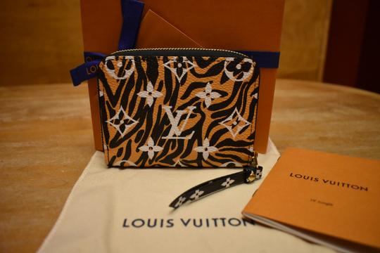 Louis Vuitton Limited Edition Jungle Monogram Zippy Coin Purse Wallet NEW IN BOX! Image 1
