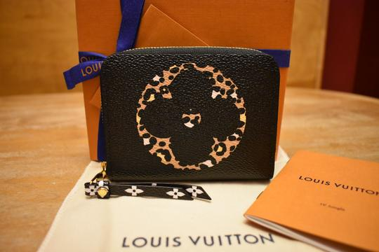 Louis Vuitton Limited Edition Jungle Monogram Zippy Coin Purse Wallet NEW IN BOX! Image 10