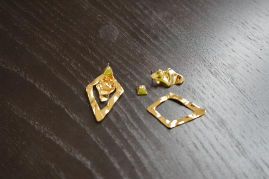 Alexis Bittar Alexis Bitter Gold Earrings Image 2