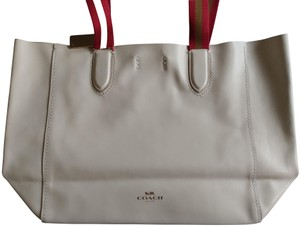Coach Derby Large Tote in Chalk Rainbow