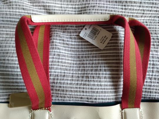 Coach Derby Large Tote in Chalk Rainbow Image 1