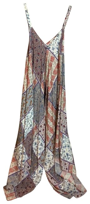 Preload https://img-static.tradesy.com/item/26156076/en-creme-red-blue-and-cream-long-casual-maxi-dress-size-os-one-size-0-1-650-650.jpg