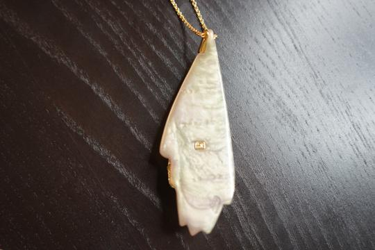 Alexis Bittar Alexis Bitter Shell Resin Long Necklance Image 3