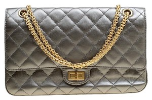 Chanel Quilted Leather 2.55 Classic Shoulder Bag
