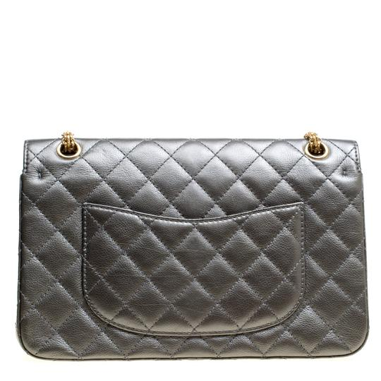 Chanel Quilted Leather 2.55 Classic Shoulder Bag Image 1