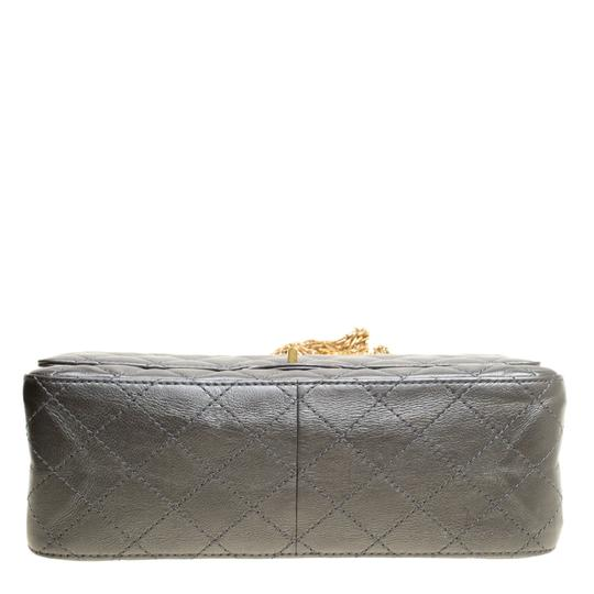Chanel Quilted Leather 2.55 Classic Shoulder Bag Image 4