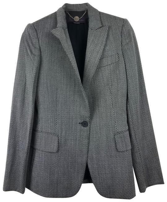 Stella McCartney Black White Blazer Image 0