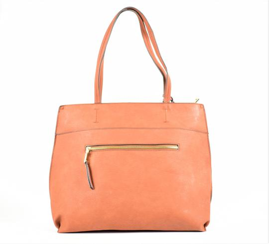 Sole Society Tote in Brown Image 3
