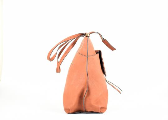 Sole Society Tote in Brown Image 4
