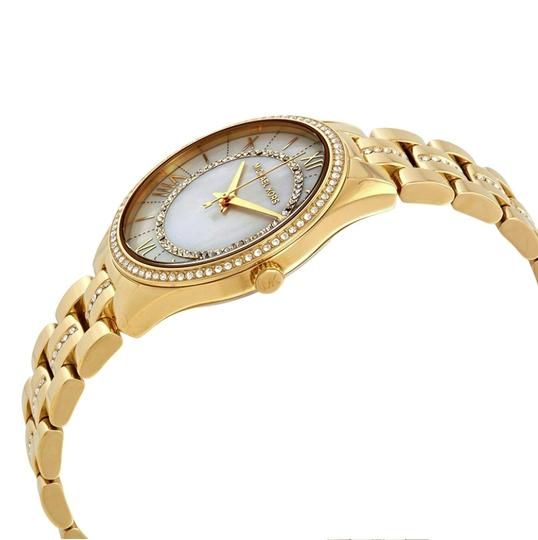 Michael Kors NEW Lauryn Gold-tone Mother Of Pearl Dial Watch MK3899 Image 1