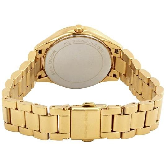 Michael Kors NEW Lauryn Gold-tone Mother Of Pearl Dial Watch MK3899 Image 2