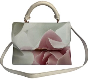 Ted Baker Satchel in pink and puddy