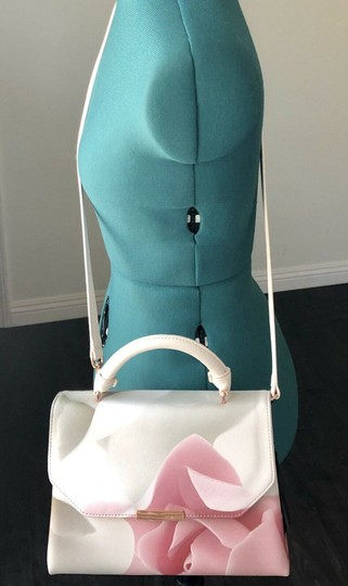 Ted Baker Satchel in pink and puddy Image 2