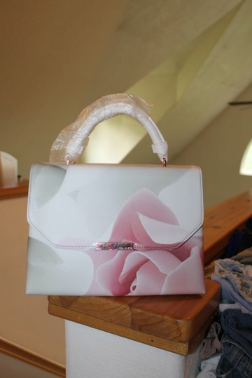 Ted Baker Satchel in pink and puddy Image 4