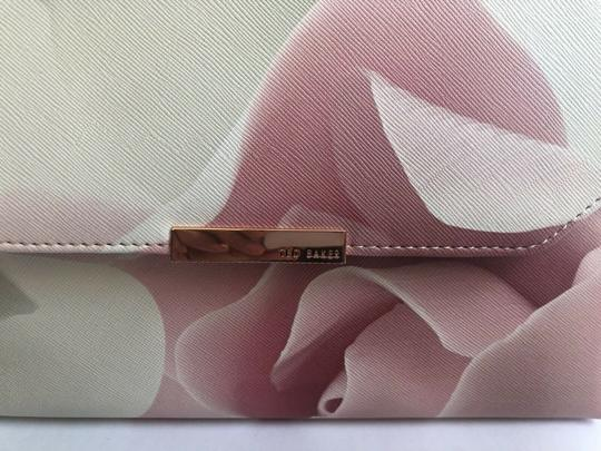 Ted Baker Satchel in pink and puddy Image 9