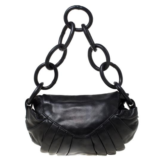 Chanel Leather Nylon Shoulder Bag Image 1