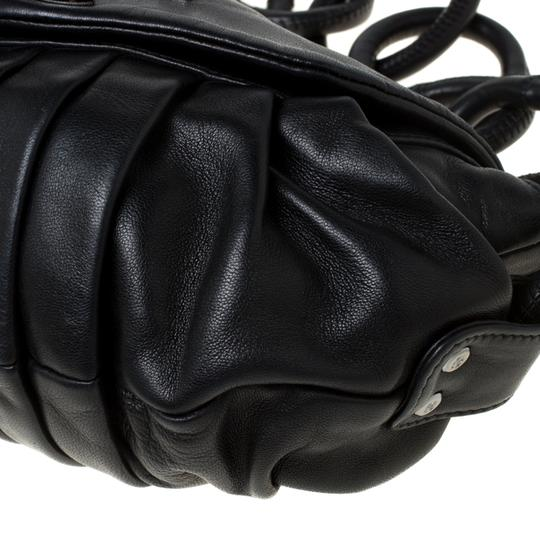 Chanel Leather Nylon Shoulder Bag Image 6