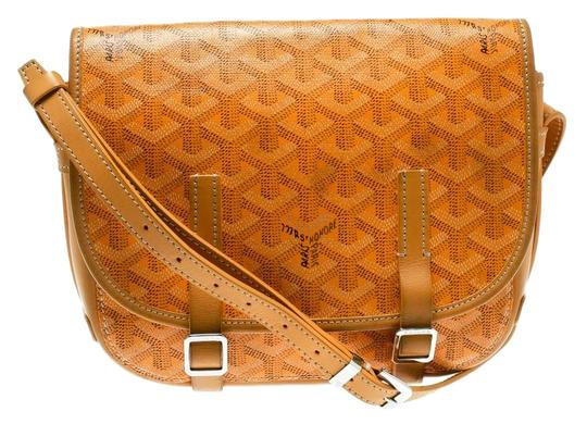Preload https://img-static.tradesy.com/item/26156196/goyard-cronce-yellow-coated-canvas-and-leather-shoulder-bag-0-1-540-540.jpg