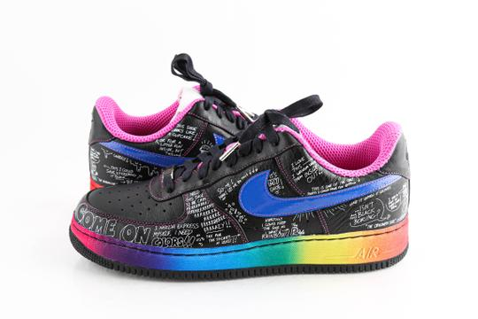 Nike Multicolor Colette X Air Force 1 Low Supreme 'busy P' Shoes Image 0