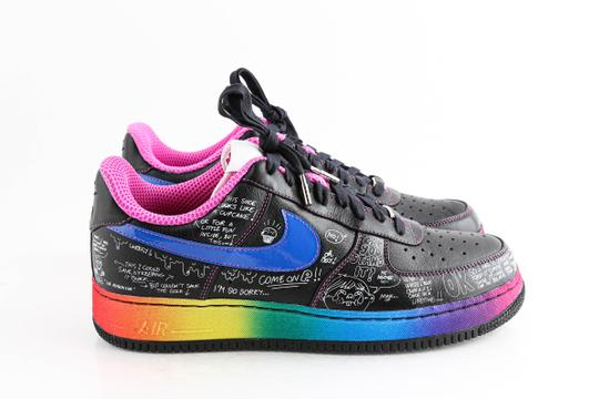 Nike Multicolor Colette X Air Force 1 Low Supreme 'busy P' Shoes Image 3