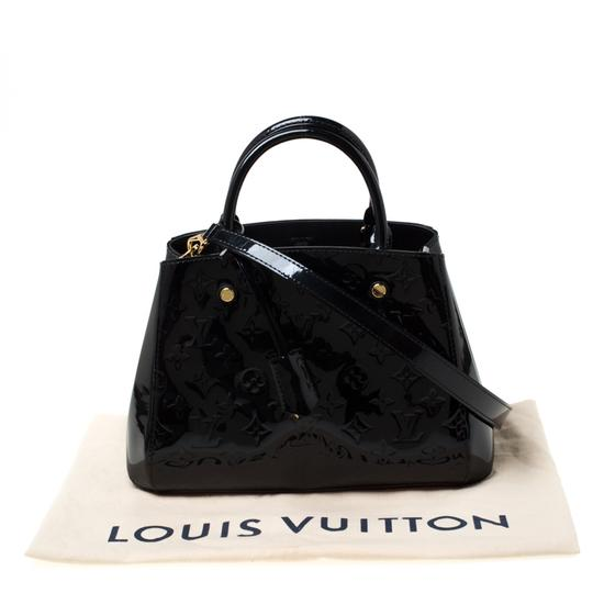 Louis Vuitton Patent Leather Canvas Shoulder Bag Image 11