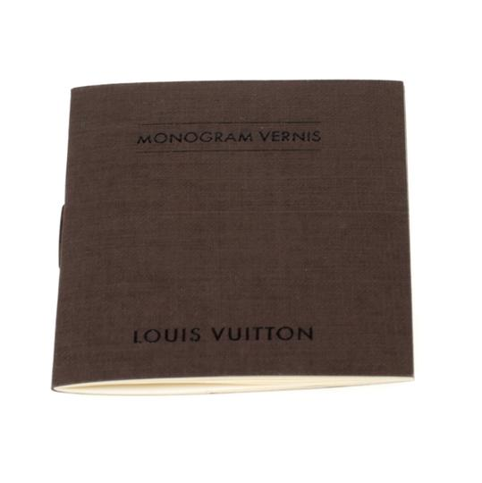 Louis Vuitton Patent Leather Canvas Shoulder Bag Image 8