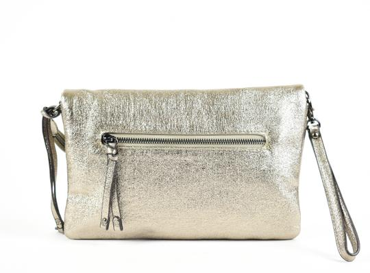 Sole Society Silver Clutch Image 5