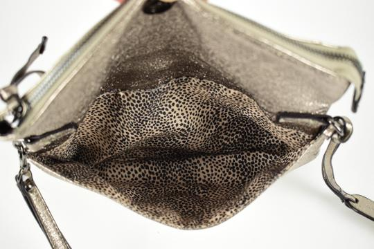 Sole Society Silver Clutch Image 6