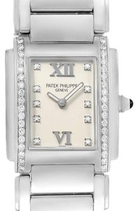 Patek Philippe Patek Philippe Twenty-4 Diamond Quartz Ladies Watch 4910/10A-010